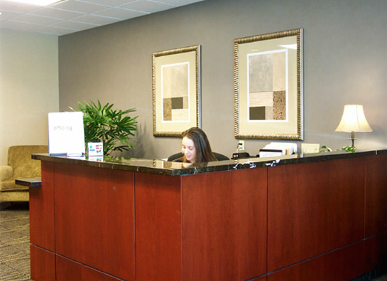 The Law Offices of Richard C. McConathy, Allen, Texas Office - Interior