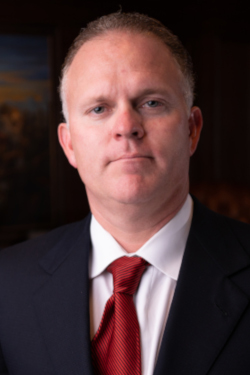 Portrait of Dallas criminal defense attorney Richard McConathy