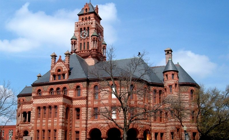 The Ellis County Courthouse