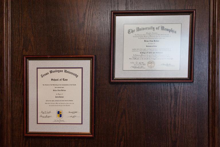 mcconathy law degrees