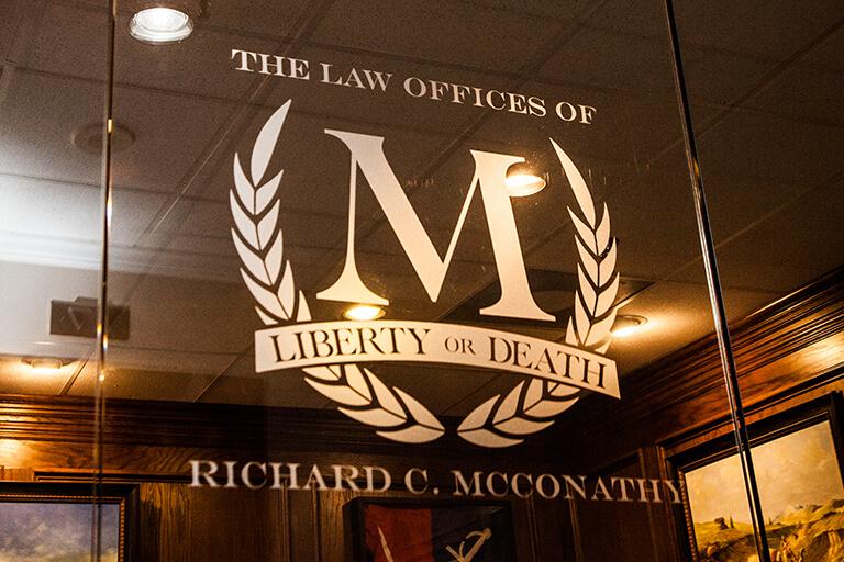 mcconathy law glass