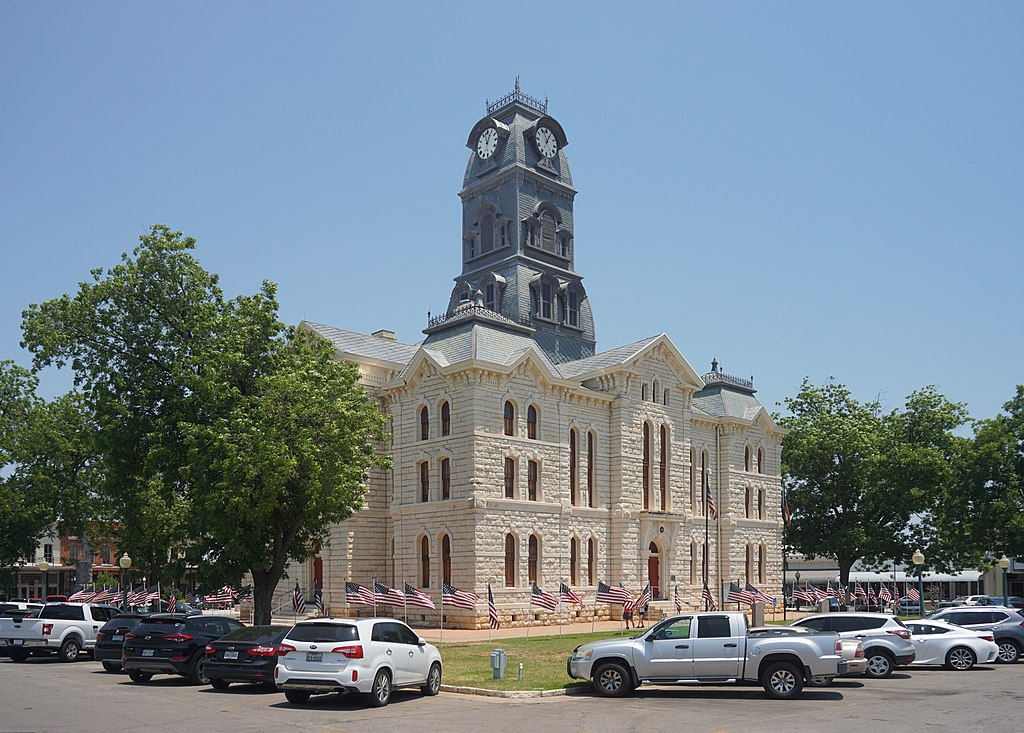 Hood county couthouse